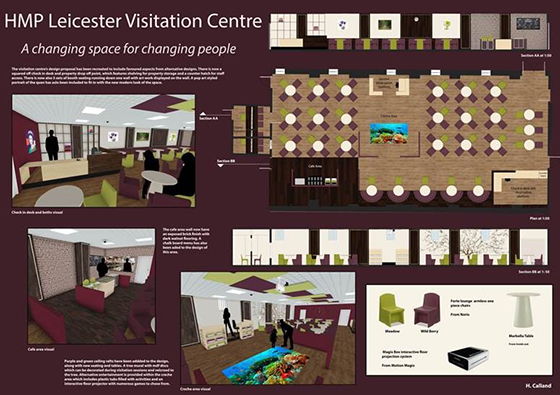 A Winning Redesign Of HMP Leicester Visitation Centre