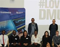 DMU alumni, students and staff talk Economics