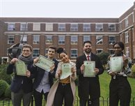 Leicester Castle Business School students shine in UK business challenge