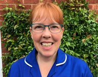 RETURNING TO THE NHS: Donna supports students all the way from the classroom to the wards