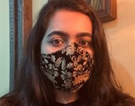 Fashion student funds charities with profits from making and selling nearly 3,000 reusable face masks in India
