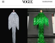 Vogue features couture look by DMU fashion student