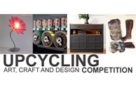 Get involved with the upcycling art, craft and design competition
