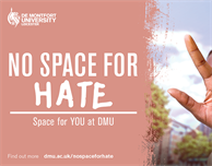 DMU has No Space for Hate