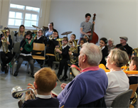 Volunteer in DMU Music's exciting Hear and Now project working with people affected by dementia