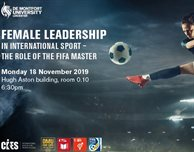 Female Leadership in International Sport – The role of the FIFA Master
