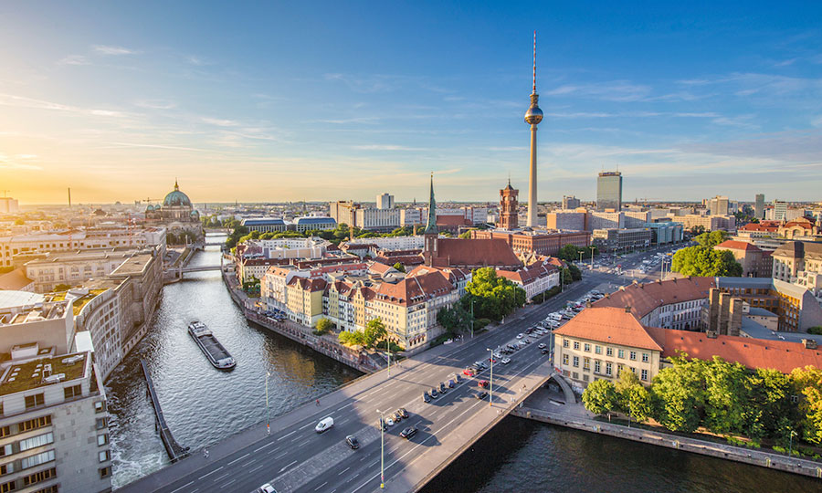 Image of Berlin skyline