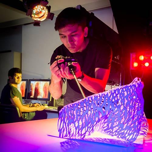 Creative Ideas Leicester: New Art And Design Facilities, Vijay Patel Building, De