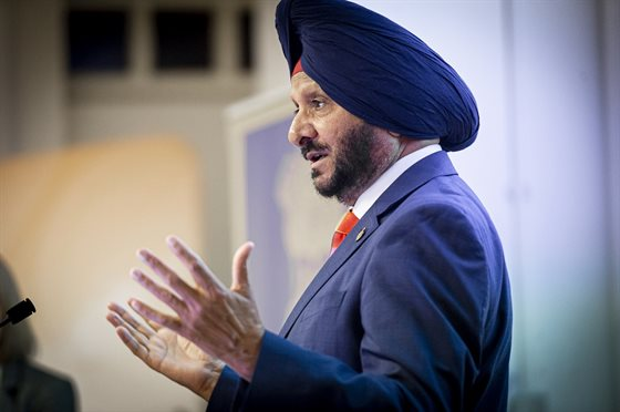 Resham Singh Sandu MBE, Chair of the Leicestershire Sikh Welfare and Cultural Society