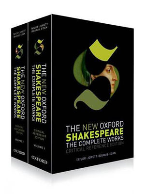 Image of the front cover of The New Oxford Shakespeare The Complete Works