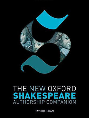 Front cover of The New Oxford Shakespeare Authorship Companion by Gabriel Egan