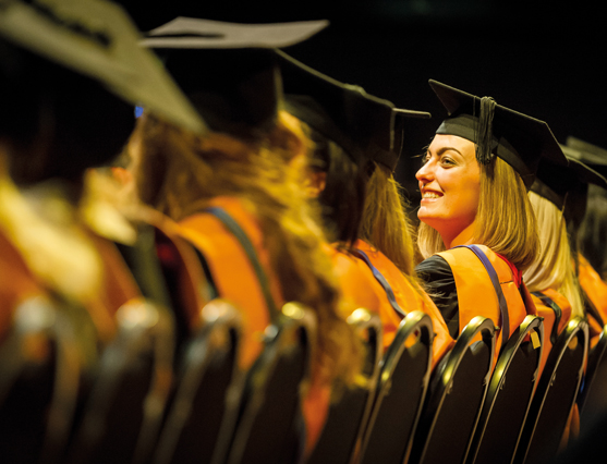 DMU graduation ceremony