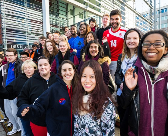 Top businesses look to recruit from DMU at university's biggest ever