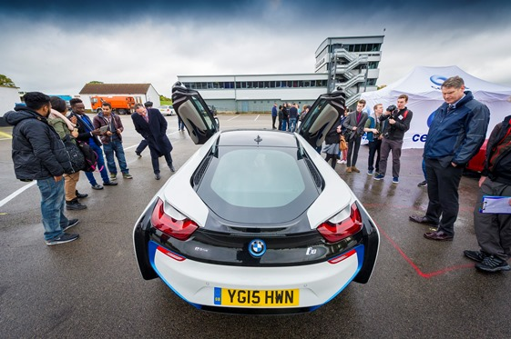 Future Engineers Charged With Ideas After Electric Car Track Day