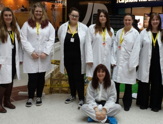 Whodunnit Dmu Students Help Little Forensic Scientists Solve Crime