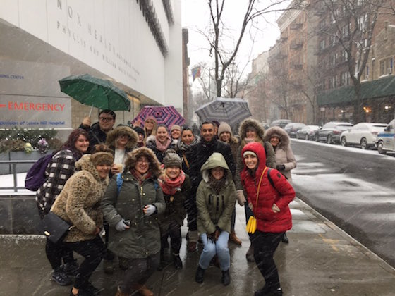 Students' healthcare studies enhanced on New York visit