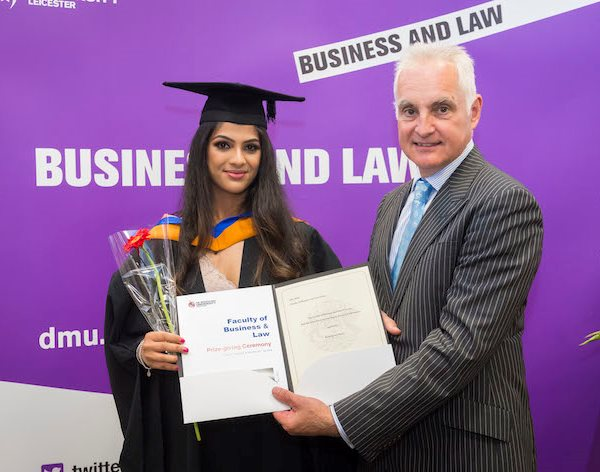 Double celebration for DMU Law School graduates