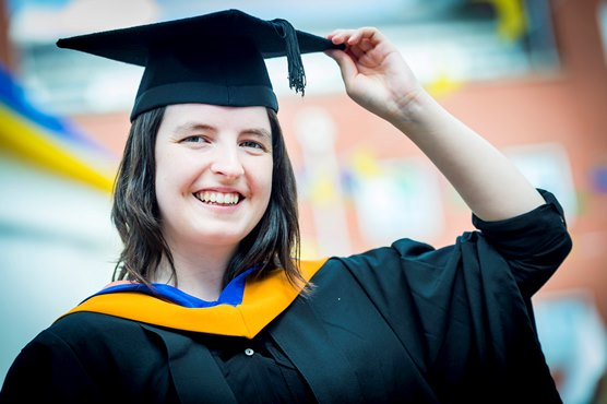 Dmu S Golden Girl Of Fashion Celebrated As Art And Design Students Graduate