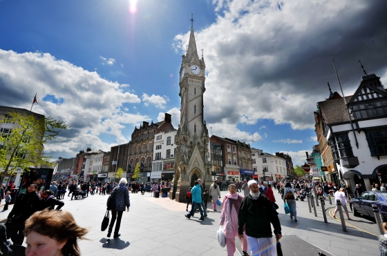 Leicester top place to live main
