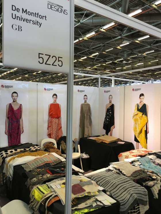 Exhibition Stand Design Leicester : Dmu students exhibit designs at leading fashion industry event