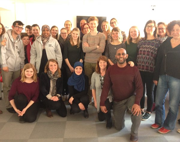 Students from across EU visit Leicester to share youth work experiences with DMU