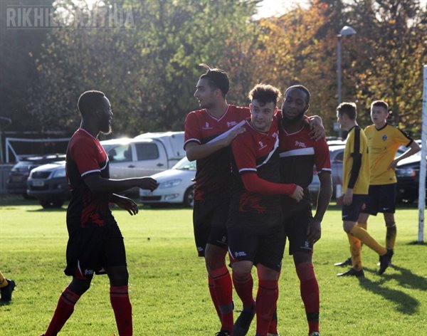 Men's Football run riot to clinch Christmas number one