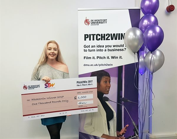 DMU student wins £1,000 for online magazine
