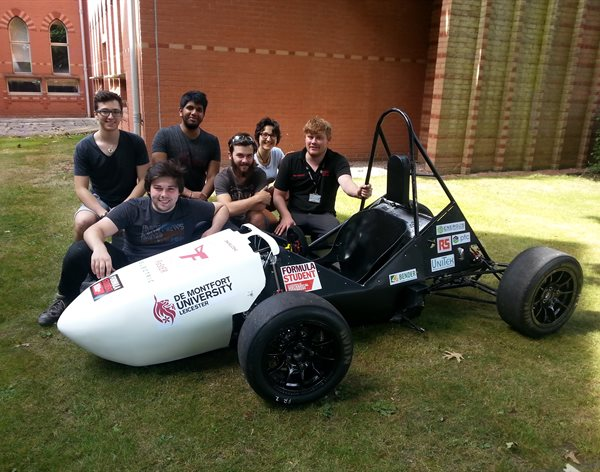 DMU racers rolling out electrifying new racer at Silverstone showdown
