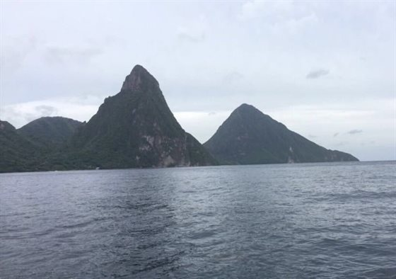 St Lucia mountains