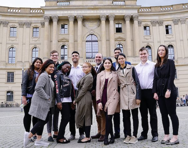 Human rights and international law in the spotlight as part of fascinating Berlin trip