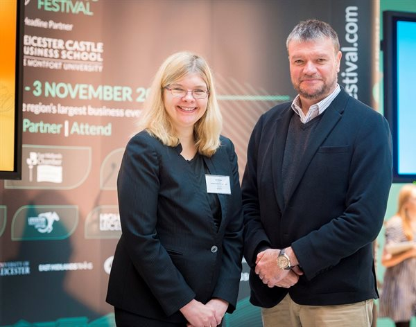 DMU joins celebrations of successful Leicester Business Festival