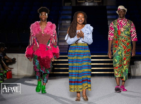 Abisola Is Queen Of The African Catwalk