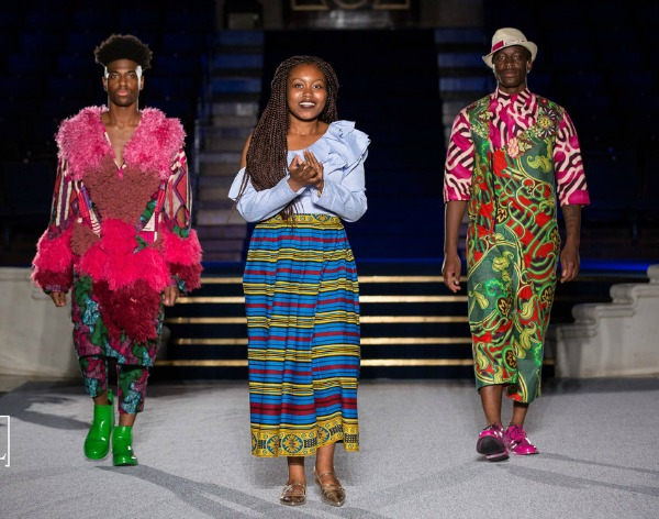 Abisola is queen of the African catwalk
