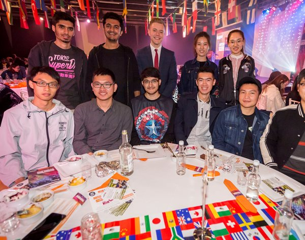 Our international students are given a warm welcome to the DMU family