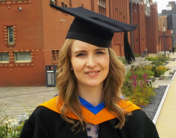 Business and Marketing degree pays dividends for Nikki