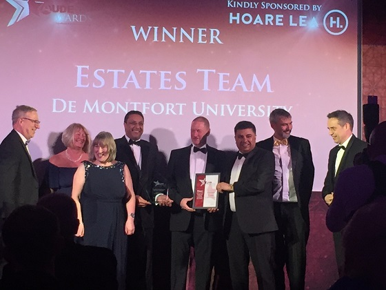 Estates team of the year.WEB