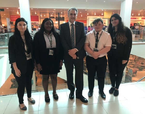 DMU students learn the skills and qualities needed in the retail industry