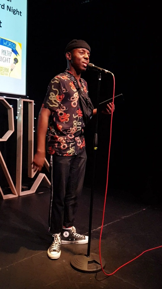 National spoken word competition opens doors for DMU student
