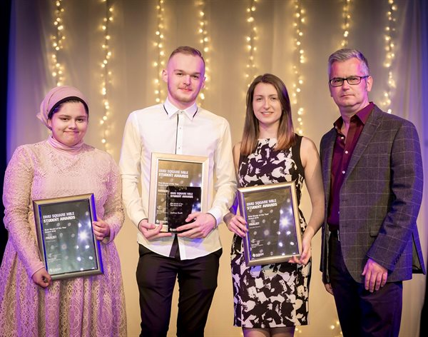 Community work recognised at Square Mile Awards