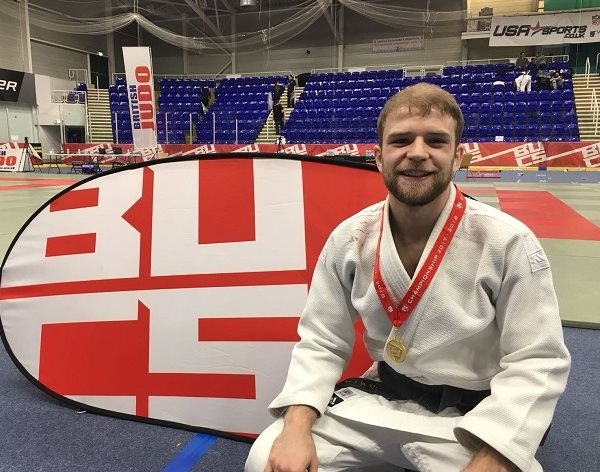 DMU Judo champ James wins British gold for DMU