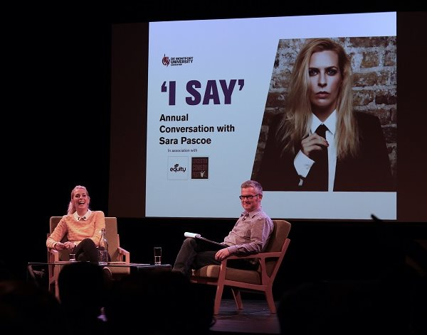 'I thought comedy was stupid, I just didn't get it,' Sara Pascoe tells DMU crowd