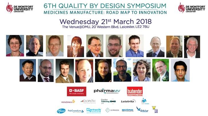 Quality by Design speakers