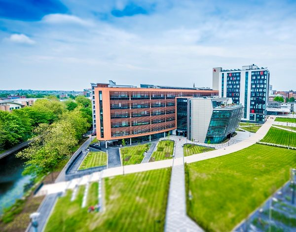 DMU's campus buildings shortlisted for six top industry awards