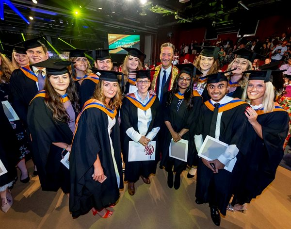 Should have gone to DMU! HLS students take centre stage on day two of summer graduations