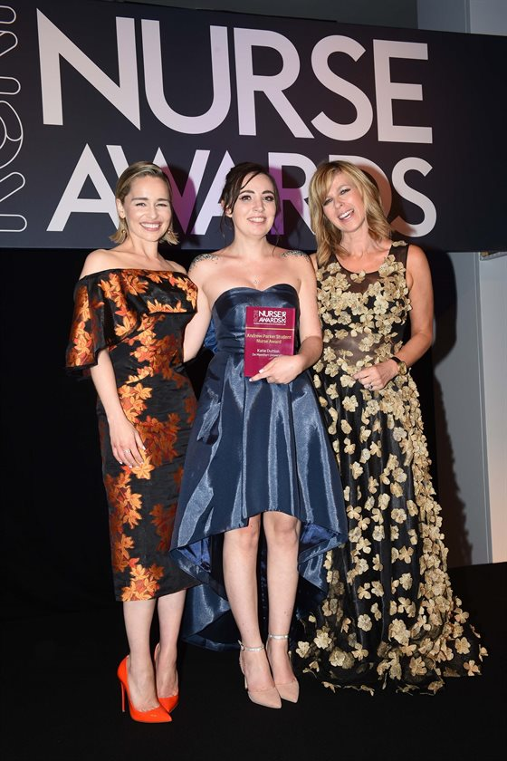 Katie wins nurse of year