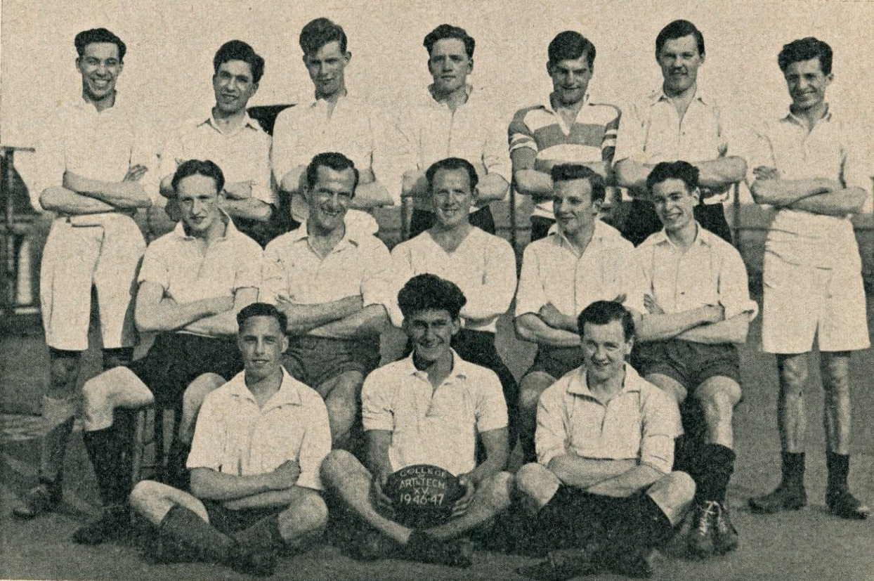 VARSITY HISTORY rugby team 1946.web