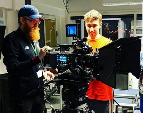From intern to employee: Jordan proves he has what it takes to work in the film industry