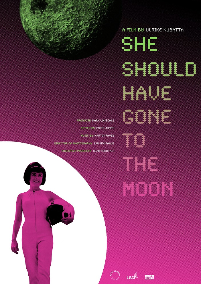 She Should Have Gone To The Moon Poster