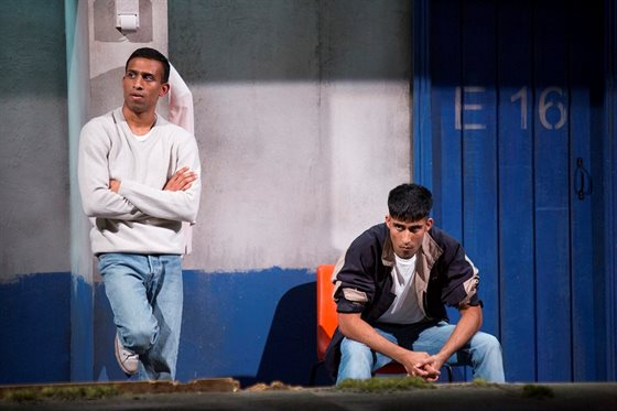 (L-R) Jay Varsani (Riaz) and Hareet Deol (Suf) - Memoirs of an Asian Football Casual - Photography by Ellie Kurttz (1)
