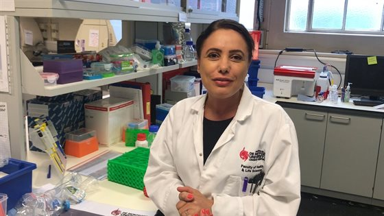DMU researcher joins leading females for Leicester's first
